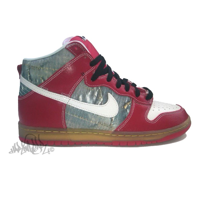 Image of NIKE SB DUNK HIGH PREMIUM - SHOE GOO - 313171 012