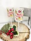 Christmas Cheer Glass