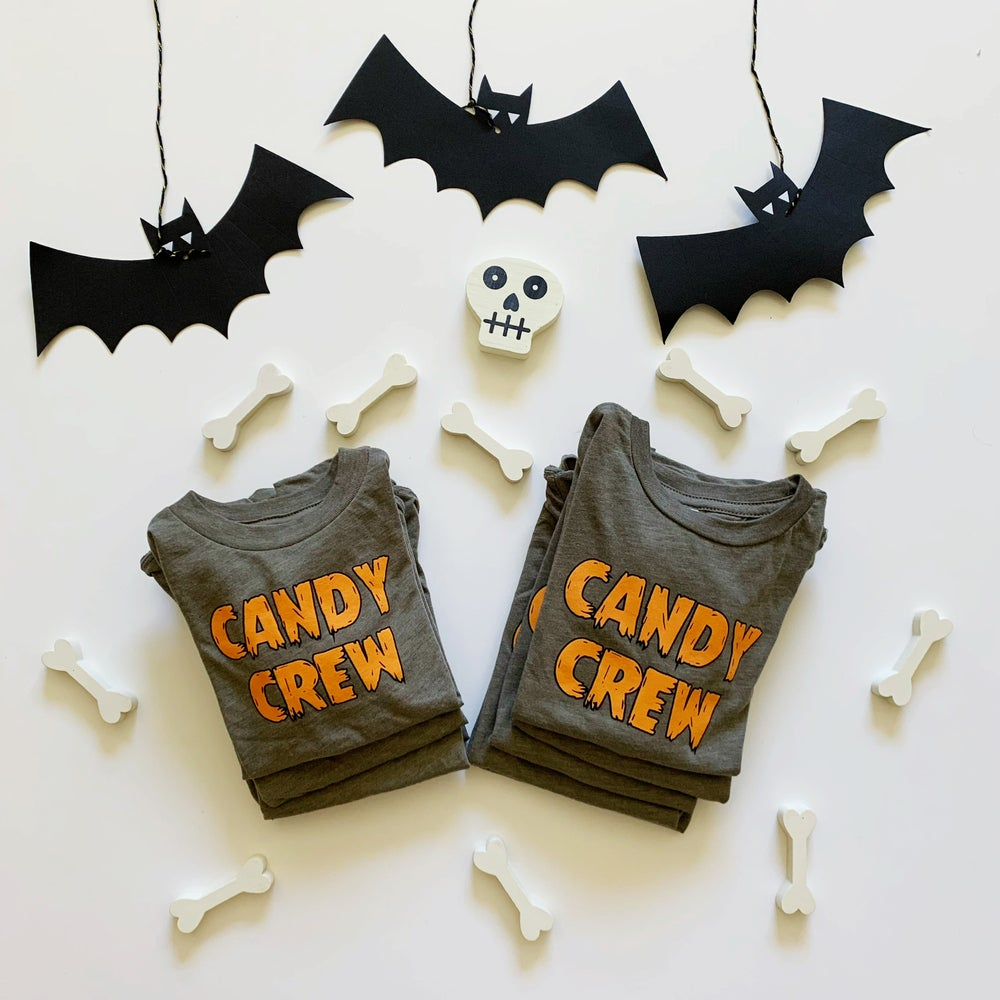 Image of CANDY CREW TEE (OLIVE)