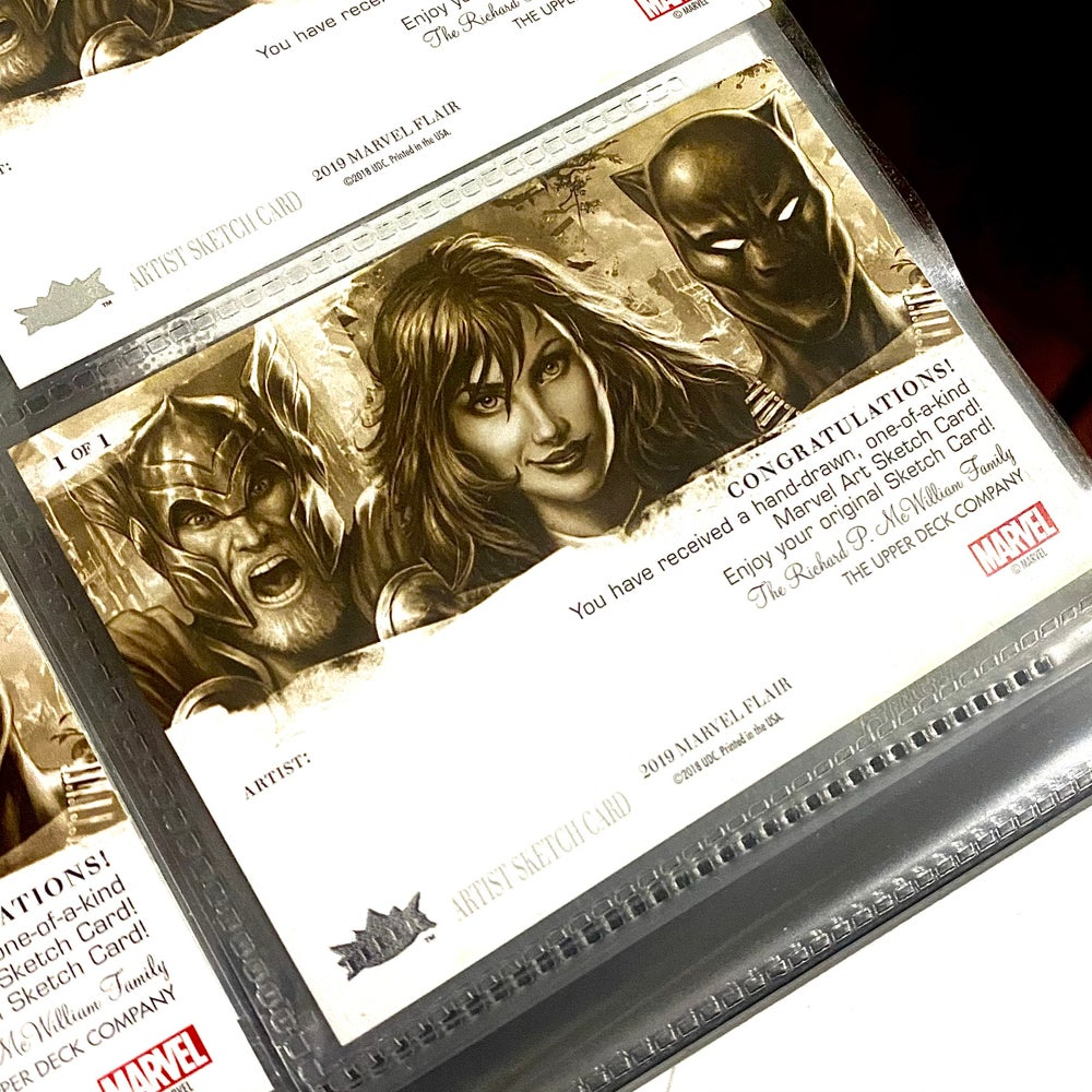 Marvel Flair AP<br>Sketch Card Commission