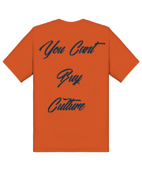 You Can't Buy Culture (Orange / Navy)