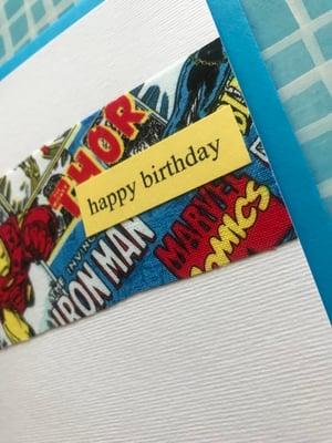Image of SuperHero Happy Birthday