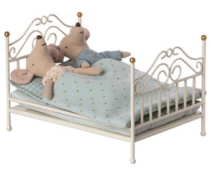 Image of Maileg - Vintage Bed Micro Off-white (Pre-order)