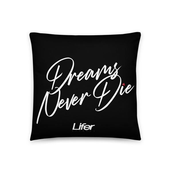 Image of LIFER DND THROW PILLOW (Onyx)