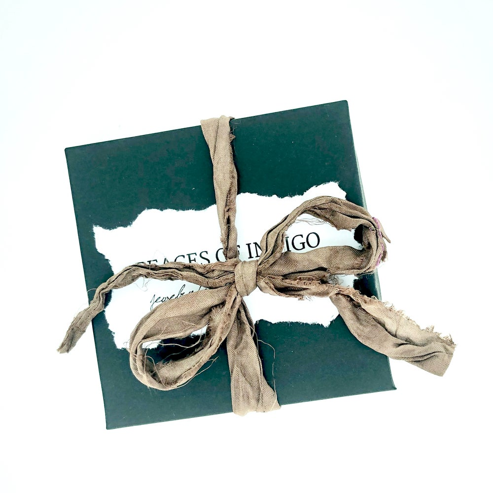 Image of garnet and green turquoise bracelet