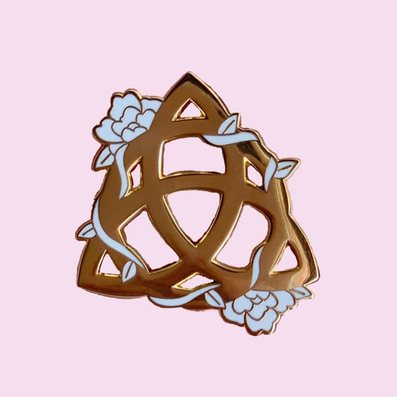 Image of Charmed sign pin