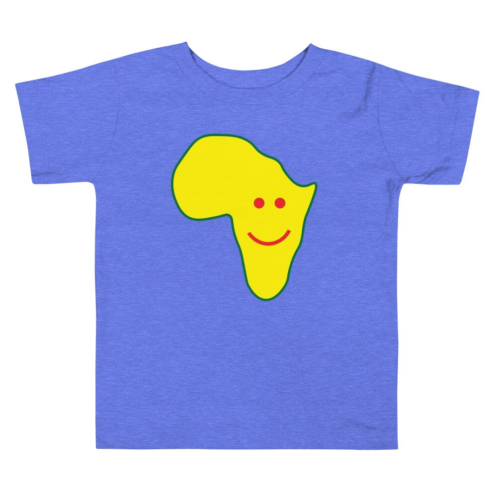 Happy Continent Toddler Short Sleeve Tee