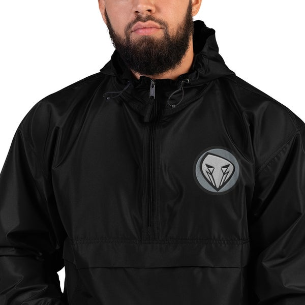 Image of WARHOOD LOGO Embroidered Champion Packable Jacket