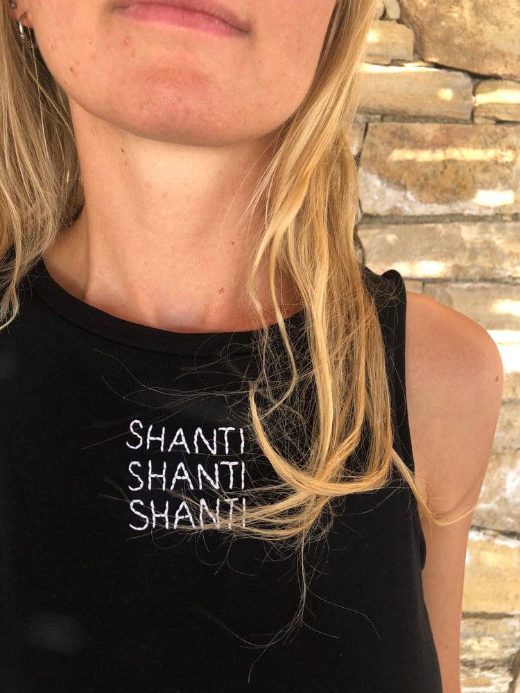 Image of SHANTI - Top - Black