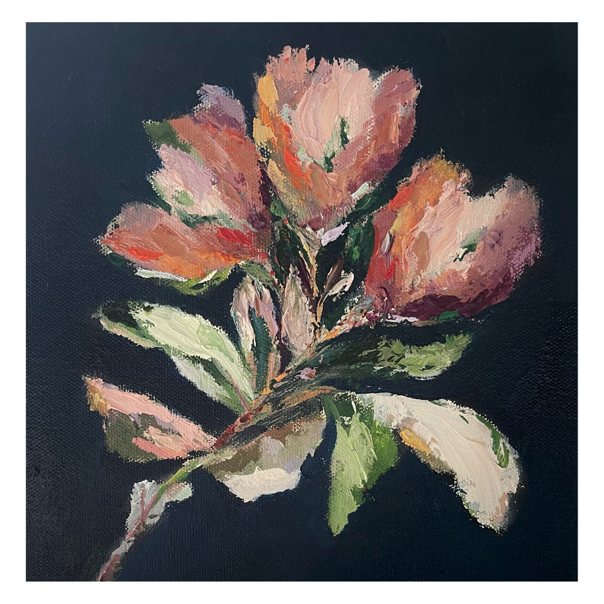 Image of 'Botanique I I' Oil on canvas