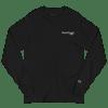 Skate Dreams Men's Champion Long Sleeve Shirt - Heart beat -Black/White ❤