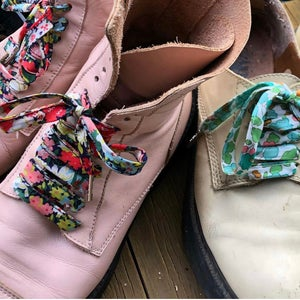 Image of Liberty Print Shoelaces in Thorpe C (Large)
