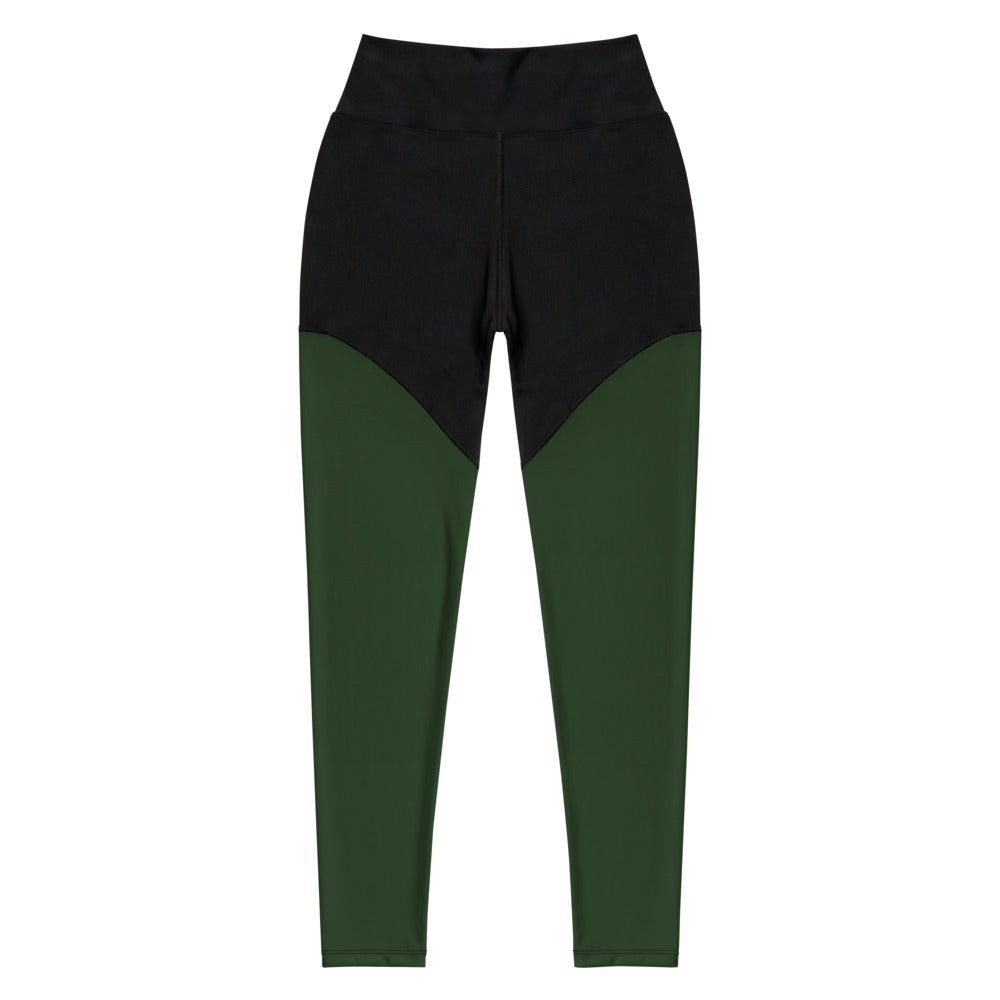 Image of Athletic Forest Green Tribe Leggings