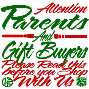 Image of PARENTS & GIFT BUYERS - Frequently Asked Questions