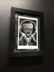 Image of Edgar Allan Poe - Framed Print
