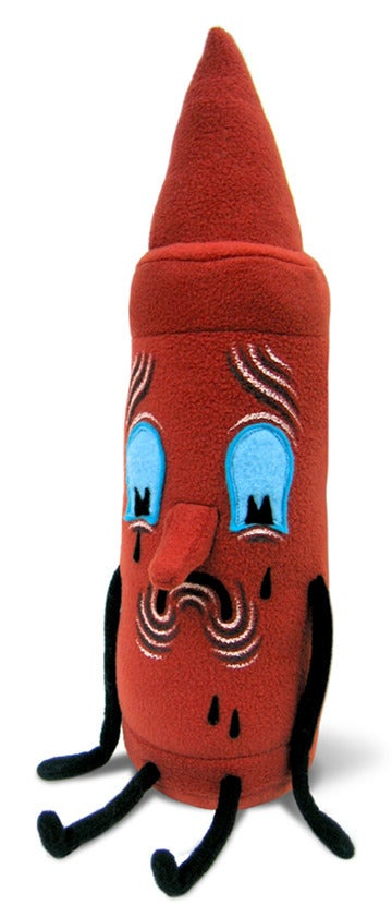 Image of Crayon Plush (Red)