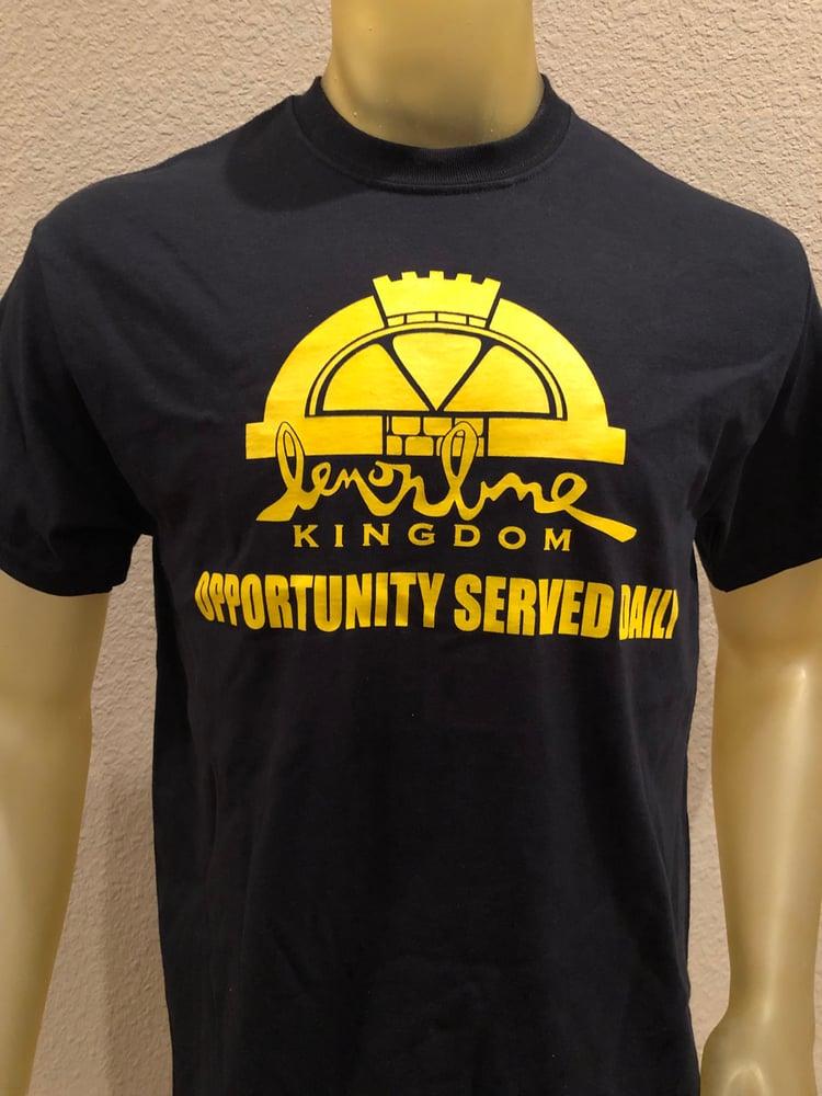 Image of Lemon Lime Kingdom O.S.D. Logo Shirt Yellow