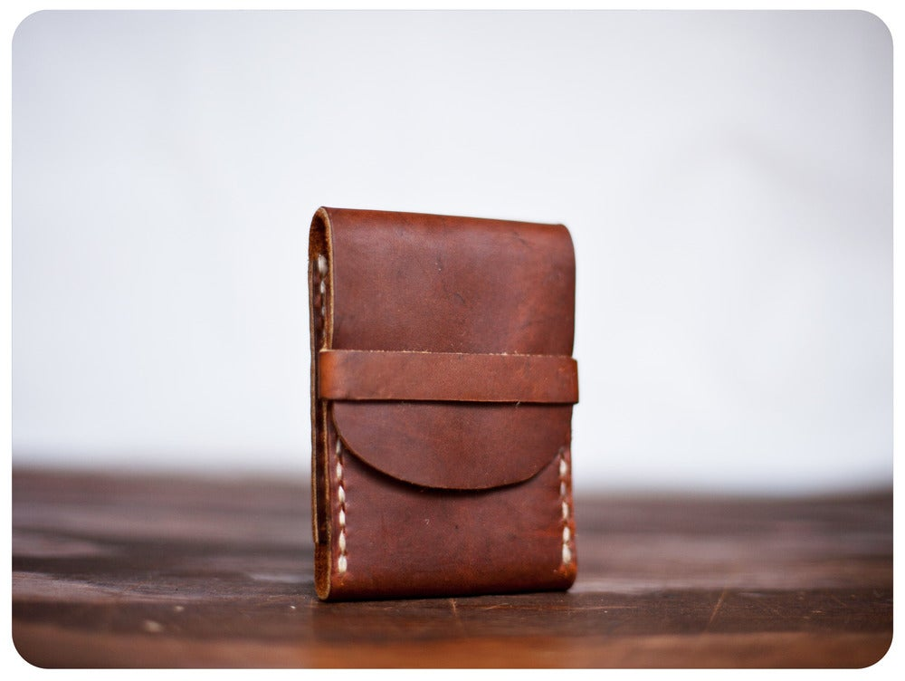 Image of FisherMans Wallet - RoughMan Brown
