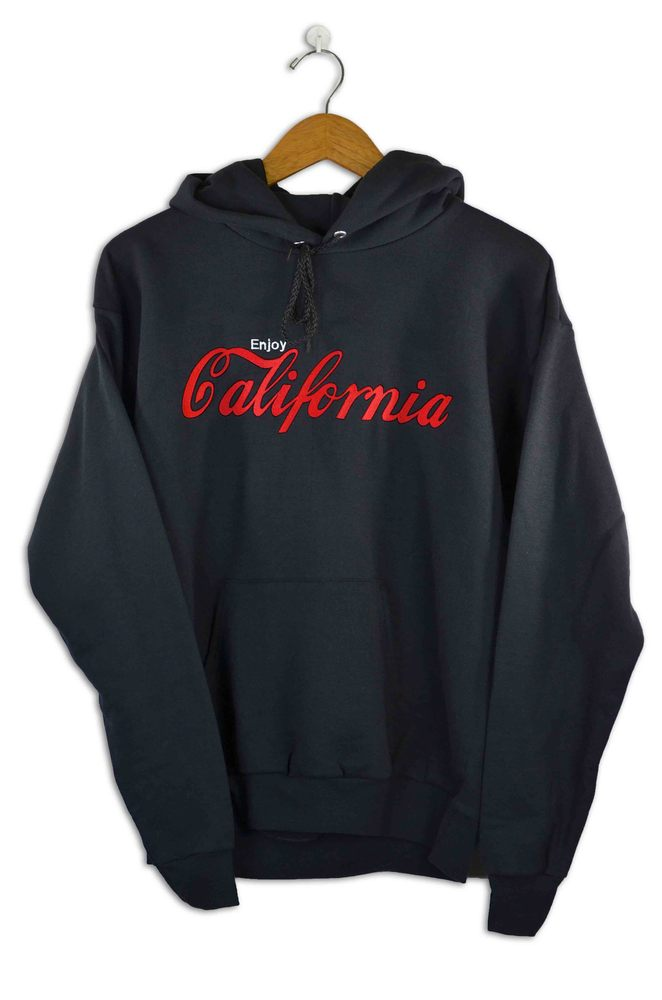 Image of Enjoy California Black Hoody
