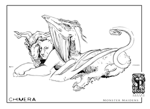 Image of Monster Maidens: Chimera