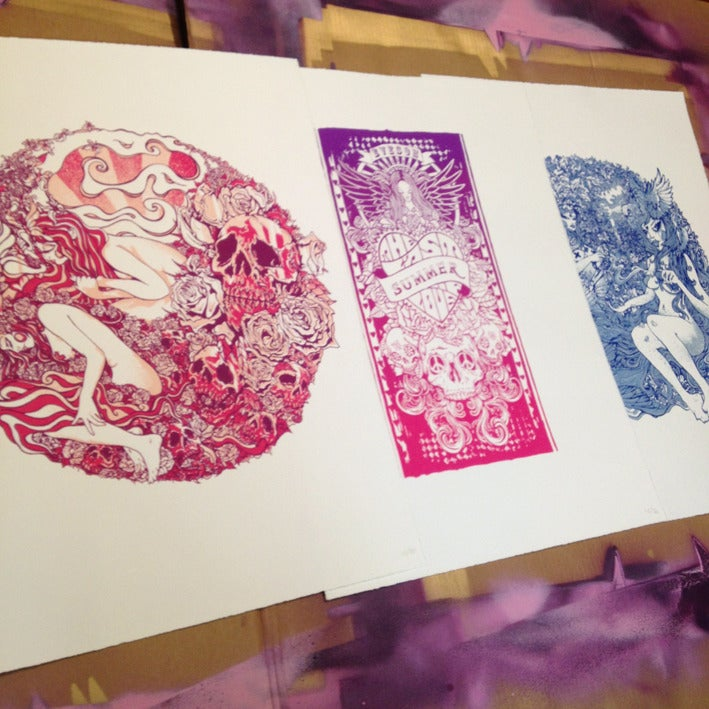 Image of The Last Summer Of Love print bundle mega deal