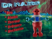 Image of Dr. N.A.T.O.M., by Jacob Crose, edition of 20, 2012