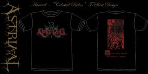 "Image of Astriaal - ""Celestial Relics"" T-shirt Design"