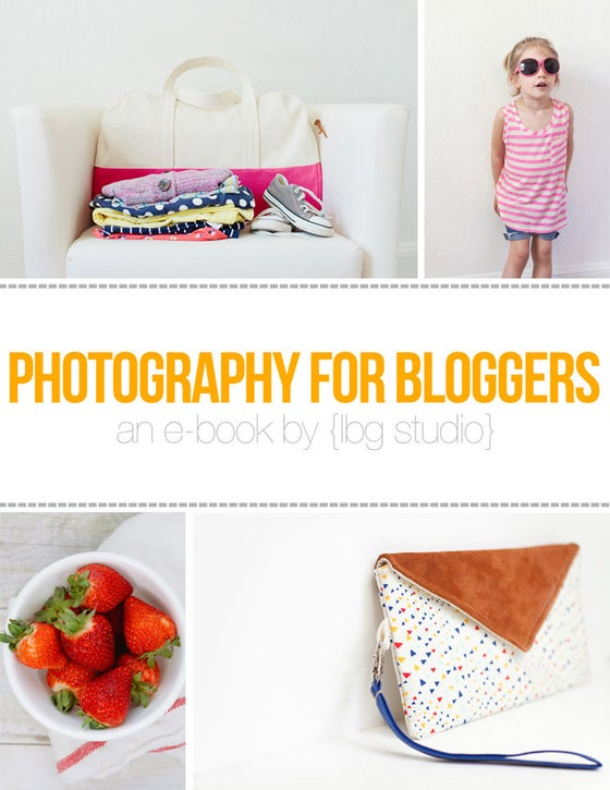 Image of Photography for Bloggers E-Book
