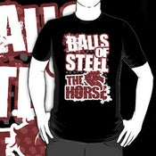 "Image of ""BALLS OF STEEL"" Tee!"
