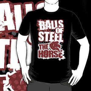 "Image of ""BALLS OF STEEL"" Tee!"