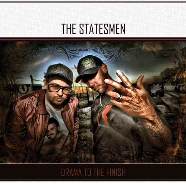 Image of The Statesmen - DRAMA TO THE FINISH