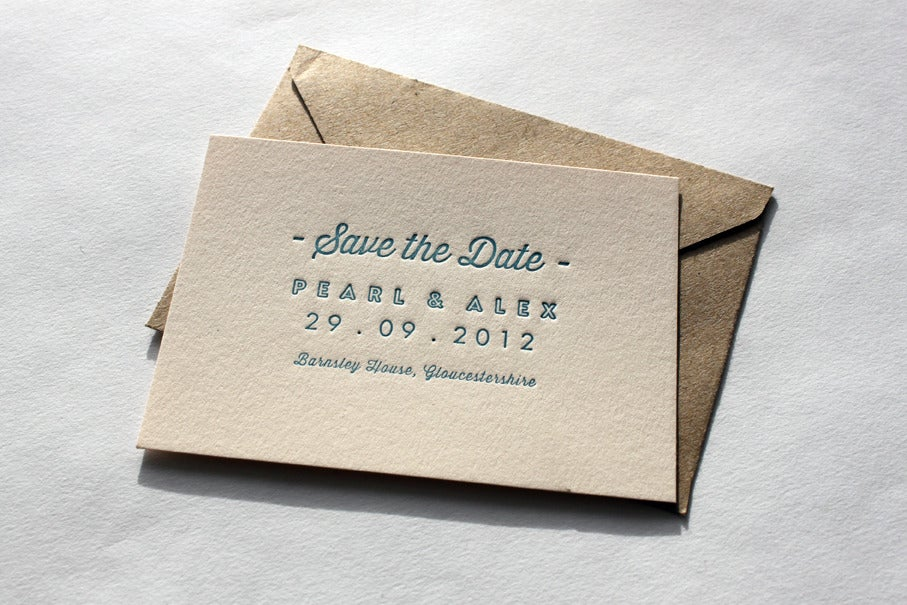Relatively Letterpress Business Cards and Wedding Invitations | Maple Tea AA96
