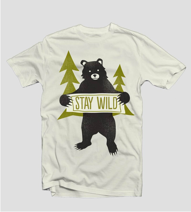 Image of Stay Wild | Designed by Amy Sullivan