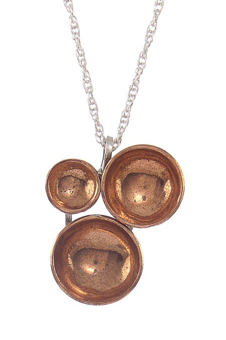 Image of Trine Necklace {copper}