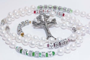 Image of Pearl & Birthstone Mother's Rosary