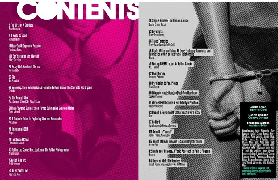 Image of Corset Magazine, Issue 4, Kink & BDSM (Digital)