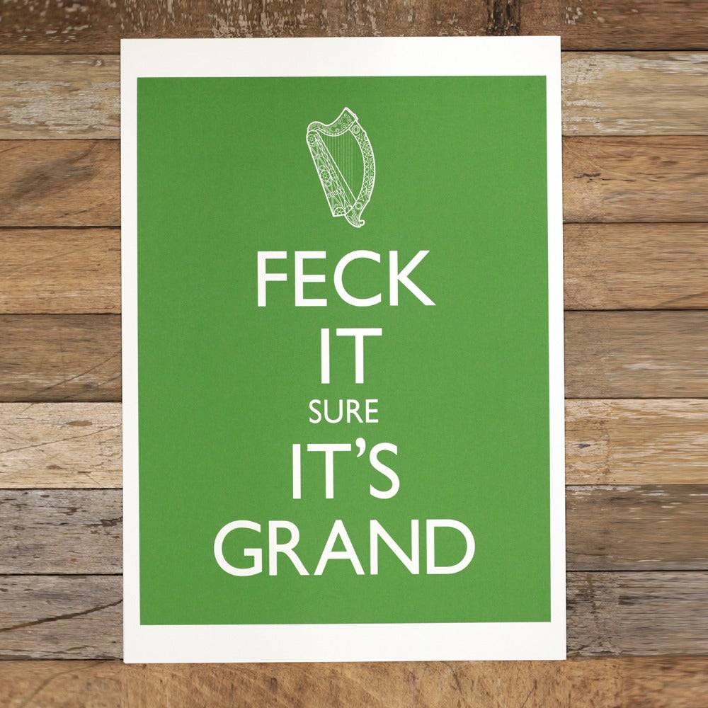 Image of BIG GREEN FECK (A3 print only)
