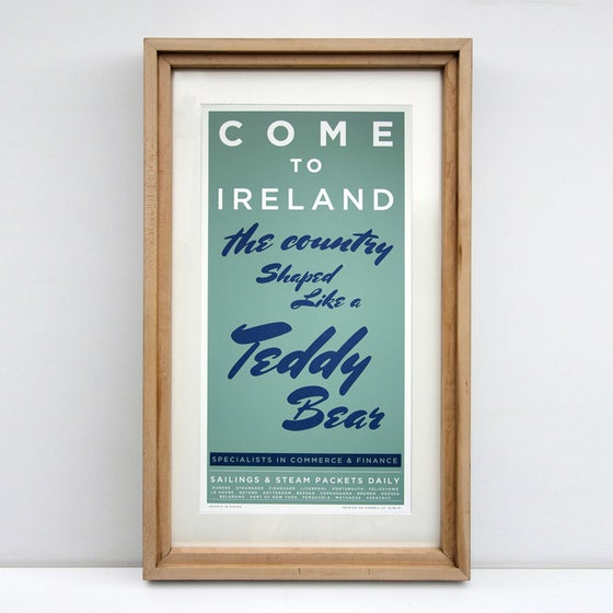 Image of COME TO IRELAND - THE COUNTRY SHAPED LIKE A TEDDY BEAR