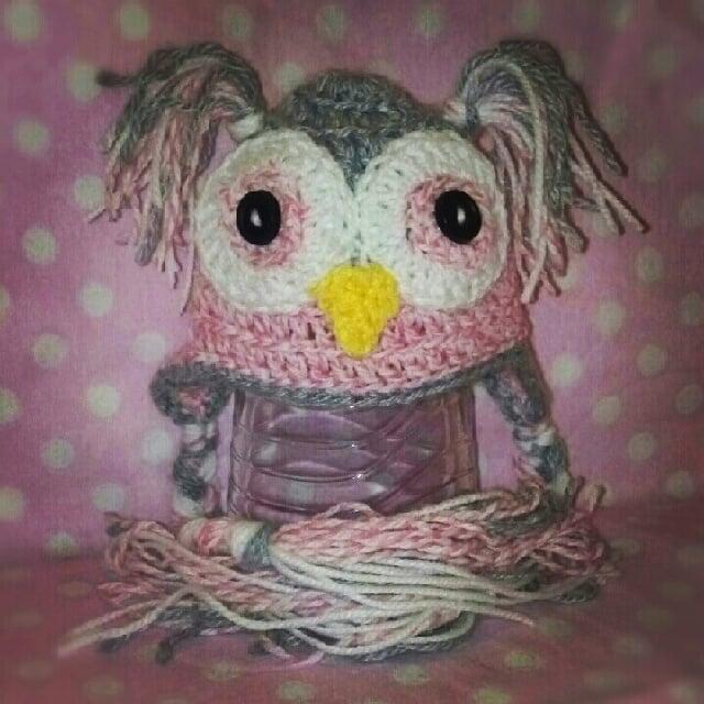 Adairtocrochet Baby Crochet Owl Hat