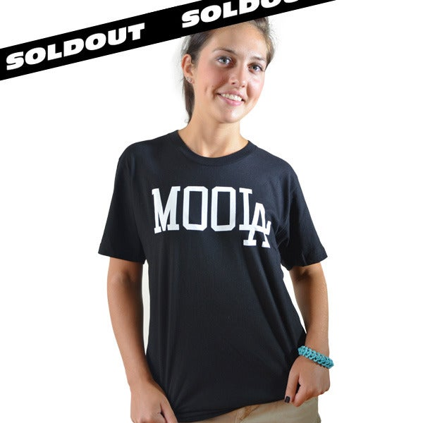Image of MOOLA Black Tee (UNISEX) LIMITED EDITION!