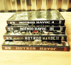 Image of Hotrod Havoc 1,2,3,4 bundle