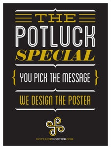 Image of The Potluck Special