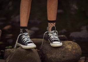 Image of Liberty Print Shoelaces in Michelle D