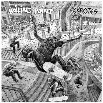 Image of The SKROTES / BOILING POINT split 7""