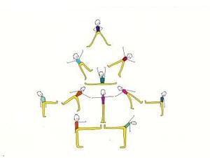 Image of Gymnast Magnets
