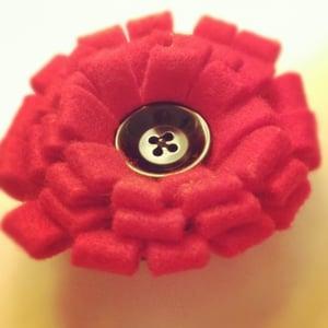 Image of Felt Flower Corsage