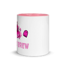 Image 2 of Pink Spooky Witches Brew Ceramic Mug