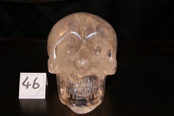 Image of Crâne Cristal de Quartz 2,110kg
