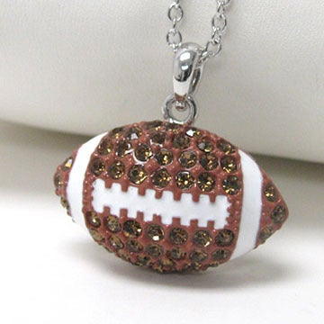 Image of Football Necklace