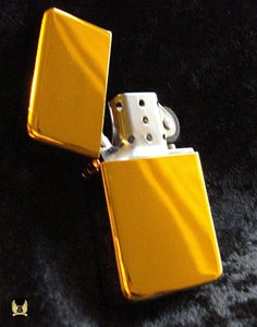 Image of 24kt Gold Polished Lighter